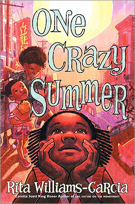 'One Crazy Summer' On the most basic level 'One Crazy Summer' (Amistad)by Rita Williams-Garcia works as a character-driven story of three sisters, who find themselves living for a month with their mother in Oakland, Calif., in the 1960s. Narrated by Delphine, age 11, the story explores how the girls adjust to a summer camp sponsored by the Black Panthers, who provide food for the community.