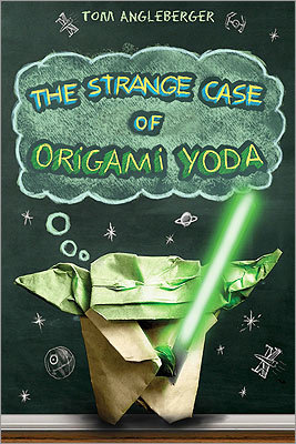 'The Strange Case of Origami Yoda' 'The Strange Case of Origami Yoda,' (Amulet) the most original novel of the year, comes from Tom Angleberger, a journalist on the staff of the Roanoke Times in Virginia. He combines text and art in an alternate-format book that will keep even the most reluctant readers turning the pages