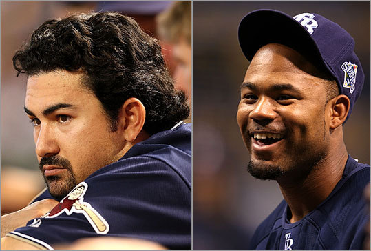 The Red Sox have had a busy week, not to mention offseason. First they traded with San Diego for All-Star first baseman Adrian Gonzalez, and next they signed left fielder Carl Crawford away from their division rival Tampa Bay Rays. Read on to take a look at the new additions.