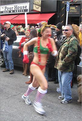 11th Annual Santa Speedo Run