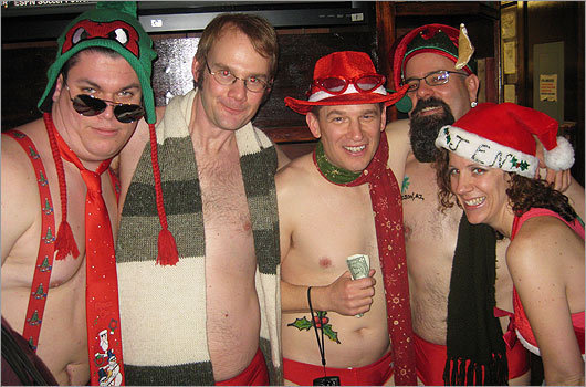 11th Annual Santa Speedo Run