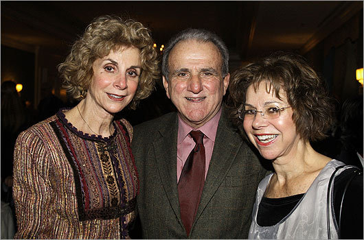 Dec. 9 in Boston From left: Karolyn Kurkjian-Jones of Watertown, Steve Kurkjian of Plymouth, and Liz Kurkjian-Henry of Winchester.