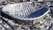 Photos: Metrodome roof collapses
