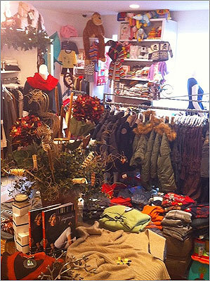 """Recess This customer-friendly Winchester boutique caters to busy time-starved moms, with separate areas for children's clothes and toys, unique hostess gifts, and versatile wardrobe necessities such as a classy cardigan and a little black dress. The owners also provide a """"create your own gift basket"""" service (including delivery) for a variety of occasions. 38A Church Street, Winchester, 781-369-1654, recessboutique.com"""