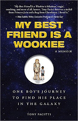 1. My Best Friend Is a Wookiee: A Memoir, One Boy's Journey to Find His Place in the Galaxy By Tony Pacitti ($19.95, Adams Media) Certified Star Wars geek (and Massachusetts native) Tony Pacitti charts his life in relation to the trilogy – from pathetic childhood and adolescence to Luke Skywalker-like coming of age. We see a painfully shy kid slowly trying out the Jedi-like powers of adulthood and using the transformative Force (and forces) of the Star Wars universe to get him there. A hyperdrive tour through Star Wars fandom that's more fun than shooting womp rats in Beggar's Canyon. But 'My Best Friend Is a Wookiee' also a comical, tender, no-punches-pulled coming of age memoir. t