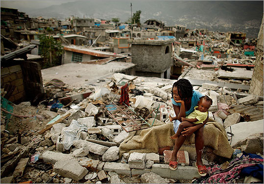 Haiti's earthquake A 7.0 earthquake struck Haiti on Jan. 12, killing thousands, leaving millions homeless, and devastating the poverty-stricken country. Relief organizations and countries throughout the world launched a massive worldwide relief effort to try to help rebuild. Read the story .