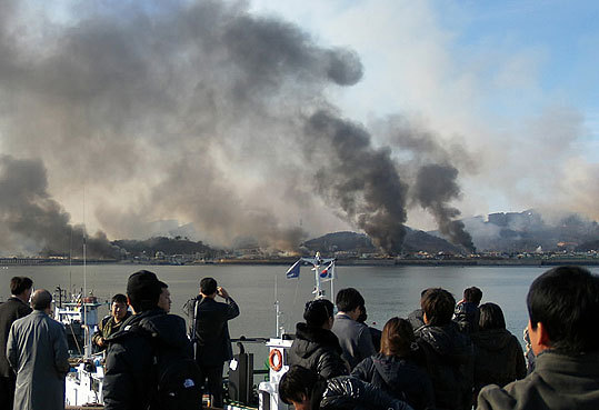 The clash between North and South Korea Tension between North and South Korea intensified after North Korea shelled the South Korea's Yeonpyeong Island. The attack created one of the most serious threats to peace since the two countries fought in the Korean War from 1950-1953. Read the story .