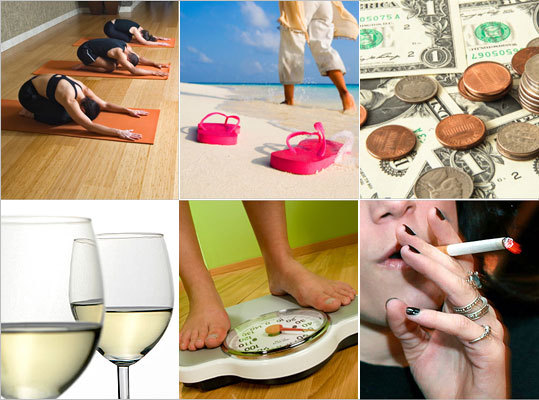 Did you resolve to drop a few pounds in the new year? Or did you resolve to quit smoking or drinking? If so, you're not alone. Take a look at some of the most common New Year's resolutions, according to USA.gov and tell us if any of these topics match your resolution list.