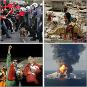 Top national and international stories of 2010