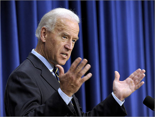 "March 23. Inevitable Joe Biden mistake of the year: Vice President Joe Biden, failing to note his proximity to a microphone, announced to the world that health care reform is a ""big f______ deal."""
