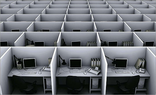 9. The end of the office... and the future of work By Drake Bennett We love to hate the workplace, but we'll miss it when it's gone.