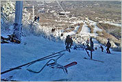 Ski lift accident photos