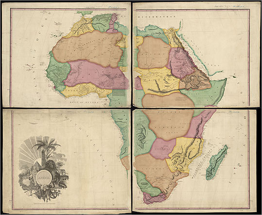 Africa, by Henry Tanner, 1831