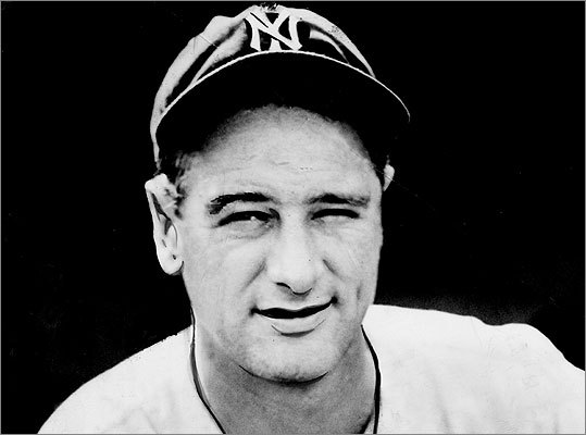 Lou Gehrig The Yankees first baseman after whom ALS is named was diagnosed with the disease by doctors at the Mayo Clinic in 1939. Gehrig died June 2, 1941. Read more