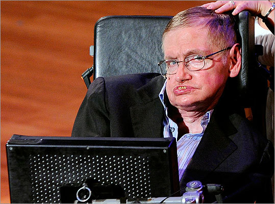 Stephen Hawking Noted scientist and author of the bestselling book 'A Brief History of Time. ' Read more