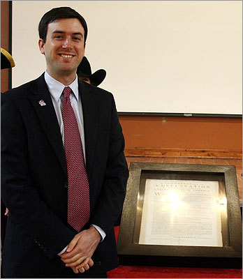Giffords aide Gabe Zimmerman was killed during the shooting. He is seen in this Feb. 2010 photo.