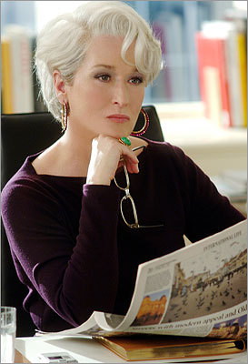 The Devil Wears Prada Miranda Priestly (Meryl Streep) is the haughty, arrogant, sophisticated and totally relentless editor of a New York fashion magazine.