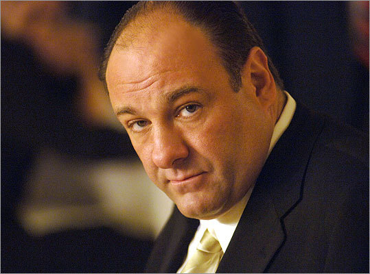 The Sopranos Tony Soprano (James Gandolfini) is the head of a New Jersey mob family trying to deal with personal issues. In the show, his therapist, Dr. Melfi, (Lorraine Bracco) even tells him he's a narcissist. He's greedy, selfish, and uses people to get what he wants.