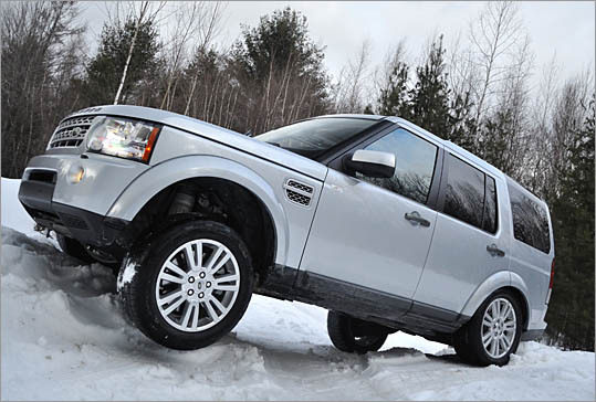 The Land Rover LR4, at 5,617 pounds, is a preposterously heavy car, even for an SUV.