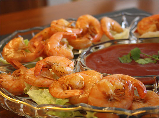Beer Boiled Shrimp Ingredients 1 tablespoon of Old Bay Seasoning 1 pound of raw large shrimp Full recipe