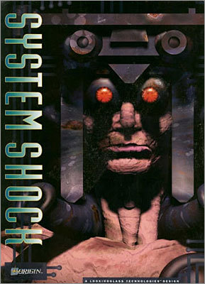 System Shock The game was created by the now defunct Looking Glass Studios. It was a moderate success at the time of its release in 1994, but is now considered one of the forefathers of modern-day first person shooters. For example, the game was one of the first to feature three-dimensional motion and weapon customization. It was followed with System Shock 2 in 1999 and was a spiritual predecessor to Bioshock.