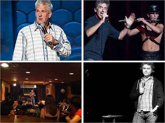 Yuk it up If you're in need of a laugh, check out our roundup of big, small, and underground comedy clubs in and around Boston. You just might see the next Dane Cook, Denis Leary, or Conan O'Brien. - Talk: Favorite comedy clubs? - Submit: Your comedy video