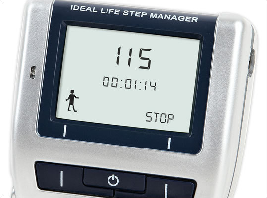 Step Manager wireless pedometer Get fit with real-time encouragement from friends with IDEAL LIFE Step Manager, a wireless pedometer with remote interactive communications. Set to be released spring 2011, the device will sell for under $85/€65.