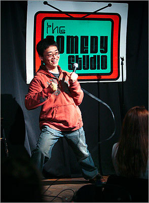 Joe Wong at The Comedy Studio
