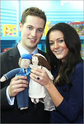 royal look-alikes Andy Walker and Kate Bevan