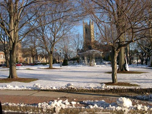 Town common - winter 2003