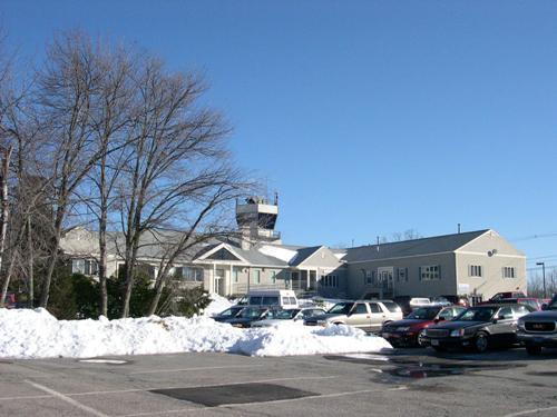 Norwood Municipal Airport - winter 2003