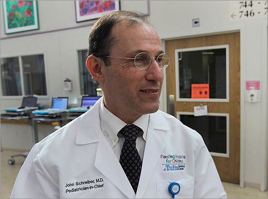 Dr. John Schrieber is the chief pediatrician of the hospital.
