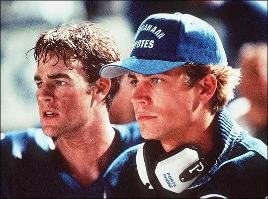 James van der Beek and Paul Walker