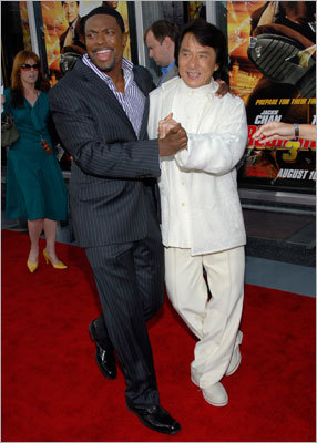 Chris Tucker 'Rush Hour' star Chris Tucker, seen here with his costar Jackie Chan, continues to top himself. After a lien had been issued for more than $3.5 million back in 2009, another one was issued for more than $11.5 million in July 2010. The actor apparently owes money for federal taxes from 2001, 2002, and 2004 through 2006, according to TMZ. TMZ reported in October that the fines were still unpaid.