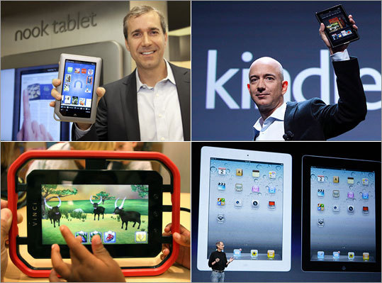 The iPad hit stores in early 2010 and caused quite a stir in the technology industry. Since then, other companies have been releasing their own tablets onto the market, including Amazon with its new Kindle Fire and Barnes and Noble, with its Nook tablet. Here is a rundown of new tablets on the market. Discuss: What tablets are you interested in?