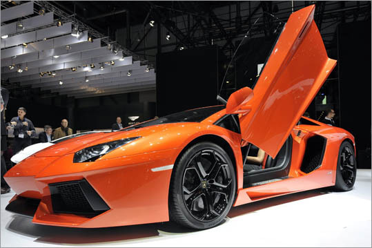 The Lamborghini Aventador, a 700-horsepower replacement for the Murcielago, has sold out its entire first year.