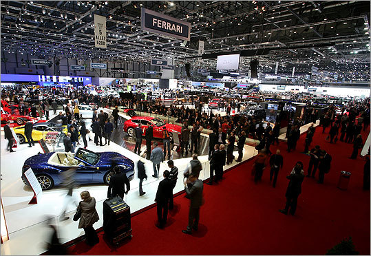 Luxury Reigns At St Geneva Auto Show Bostoncom - Boston car show this weekend