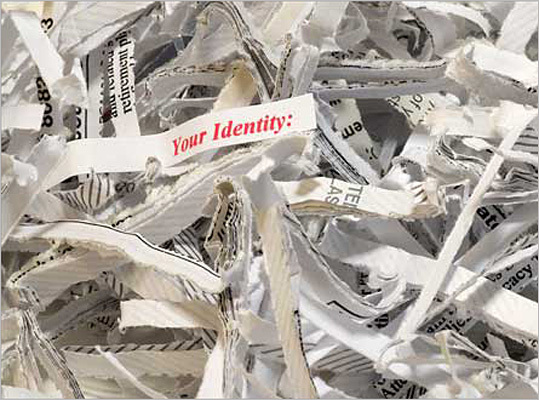 Use your shredder It's important to make sure you don't throw anything away that contains any personally identifying information. Instead, make sure to shred any documents before tossing them. Consult a tax professional to know what to keep and what to shred.
