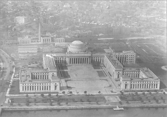 As mentioned earlier, MIT moved across the river to its current location in 1916. The new Cambridge campus featured a central group of interconnecting buildings designed by W. Welles Bosworth, a member of the MIT class of 1889. The neoclassical buildings were built with the intention of being able to adapt to the times and changing research needs of the university.