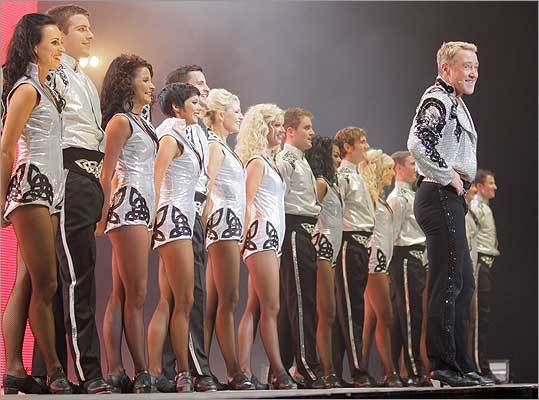 "Michael Flatley, pictured performing at an arena in Berlin, is the subject of the film ""Lord of the Dance 3D.'' (Stephan Schraps/Supervision Media)"