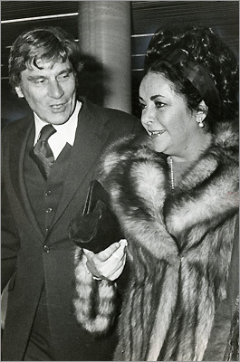 Elizabeth Taylor and her husband John Warner
