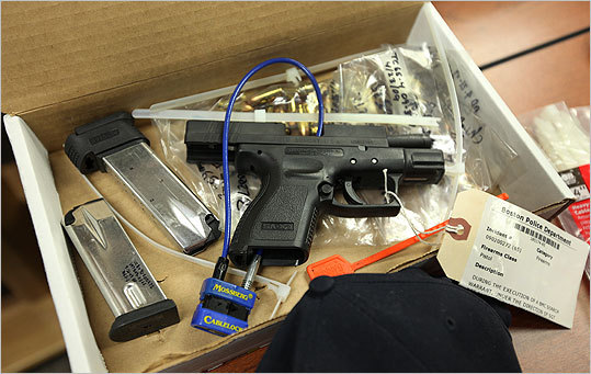 Markoff used a Springfield Armory semi-automatic pistol in the murder, police said.