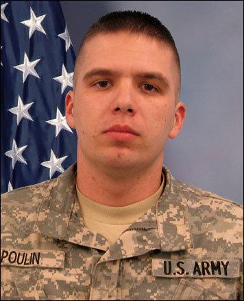 Specialist Dennis C. Poulin, 26, of Rhode Island