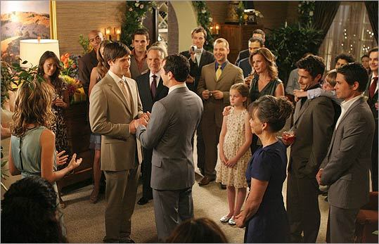 Kevin and Scotty's wedding on 'Brothers & Sisters'