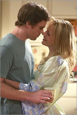 Dexter and Rita's wedding on 'Dexter'