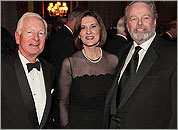 Lee Fentress, Vicki Kennedy, and Pete Meade