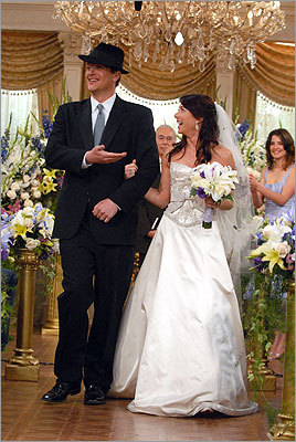 Marshall and Lily's wedding on 'How I Met Your Mother'
