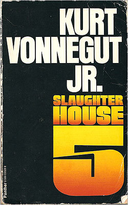 Slaughterhouse Five By Kurt Vonnegut Jr. This book is an account of Billy Pilgrim's capture and incarceration by the Germans during the last years of World War II. It depicts his traumatic experiences while exploring the ideas of war, peace, and free will.
