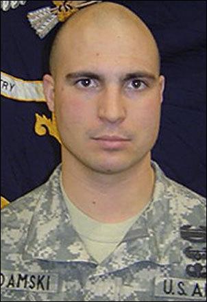 Staff Sergeant Frank E. Adamski III, 26, Moosup, Conn.