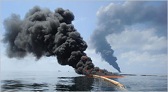 Disaster unfolds slowly in Gulf